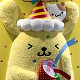 お花見 忠犬 ハチ公 慰霊祭と渋谷マークシティのポムポムプリン。